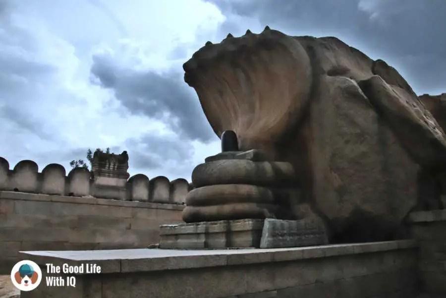 Naga linga - Lepakshi temple