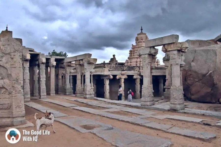 Kalyana mantapa - Lepakshi temple