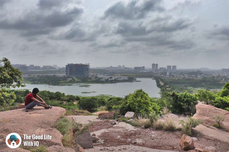 Kokapet lake, Hyderabad