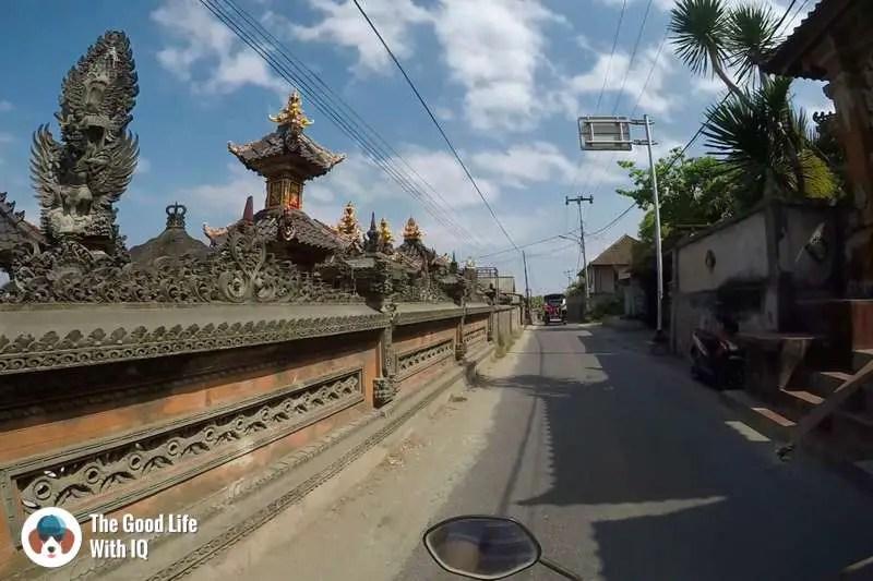 Temple, Nusa Lembongan