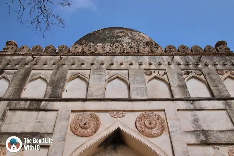 tomb of ahmed shah - weekend motorbike ride to bidar