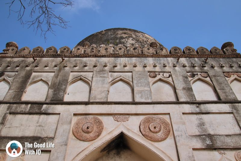 tomb of ahmed shah - weekend motorbike ride to bidar
