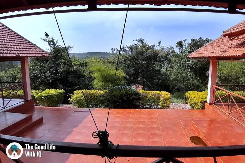 dining hall, blackbuck resort, bidar - Hyderabad to Bidar road trip