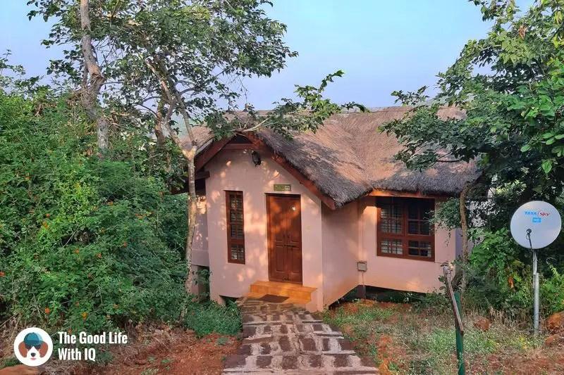 blackbuck resort cottage - Hyderabad to Bidar road trip