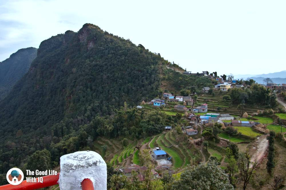 View of Deurali village from Club ES Resort
