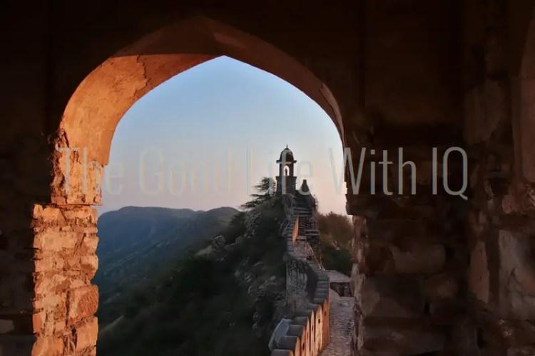 Amer fort ramparts, Jaipur, India