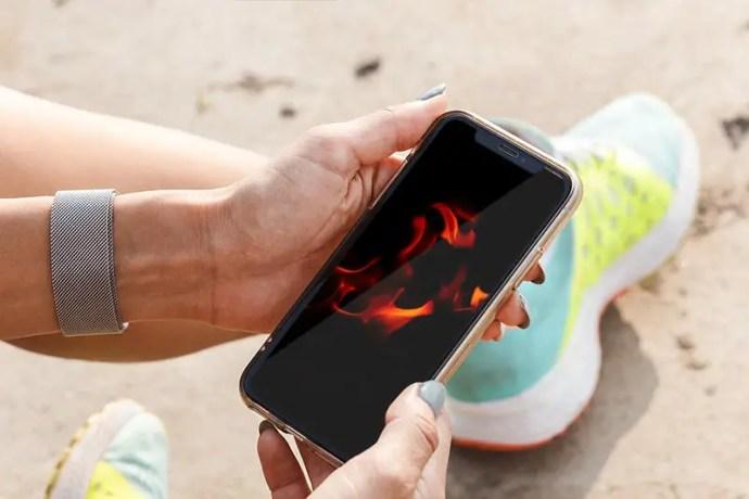 Close up of campfire flames at Pawna Lake, India