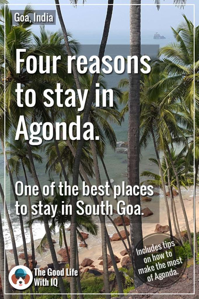 Pinterest thumbnail - Four reasons why Agonda is one of the best places to stay in South Goa
