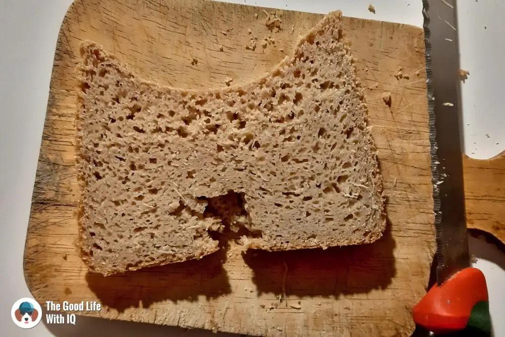 weird looking but tasty bread