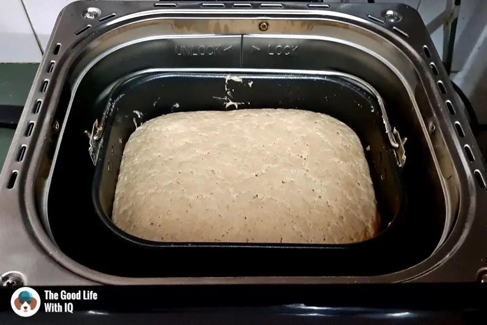 overproofed dough