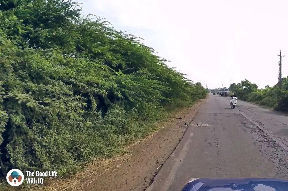 Ballari-Gooty road