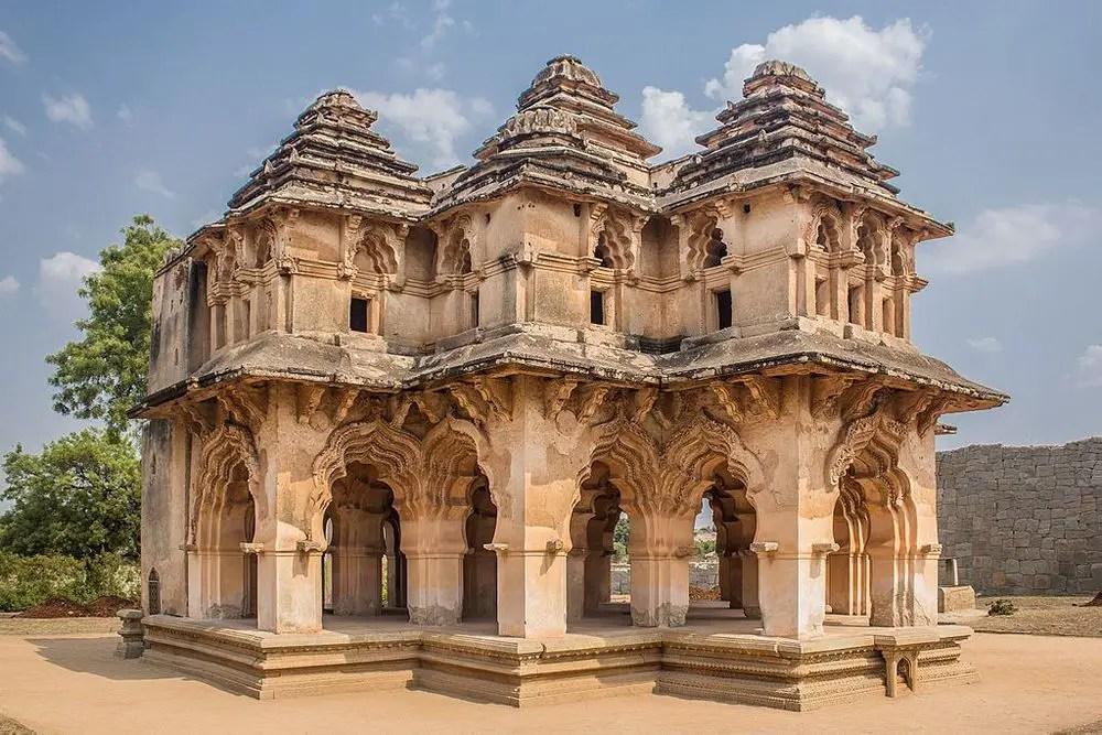 Lotus Mahal - Hyderabad to Hampi road trip