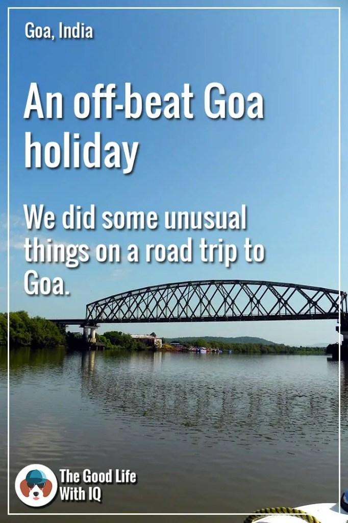Off-beat Goa holiday - Pinterest thumbnail