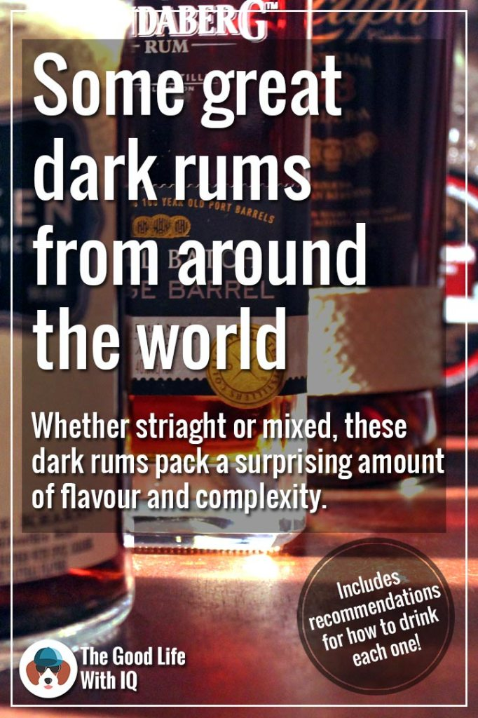 Great dark rums from around the world - Pinterest thumbnail