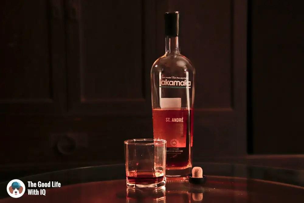 Dark rum brands - Takamaka St. Andre