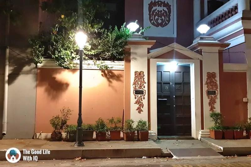 Beautiful door - 3 day trip to Pondicherry