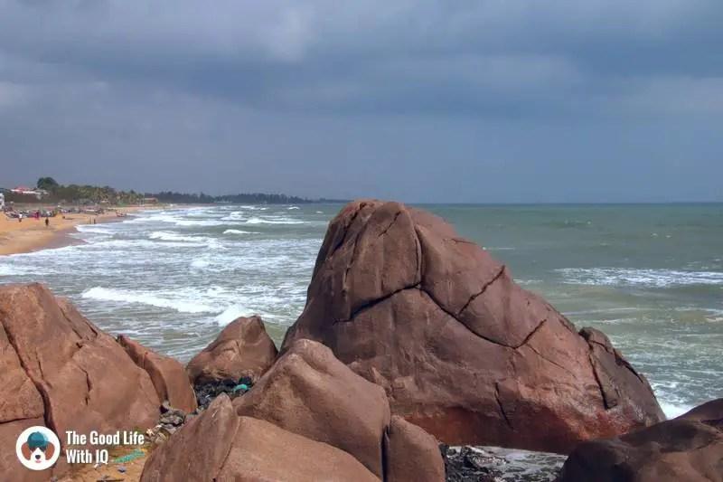 Mahabalipuram beach - 3 day trip to Pondicherry