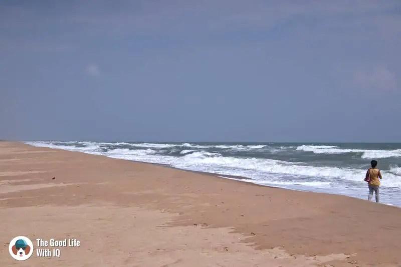 Chinna Veerampattinam (Chin-Veer) beach - 3 day trip to Pondicherry