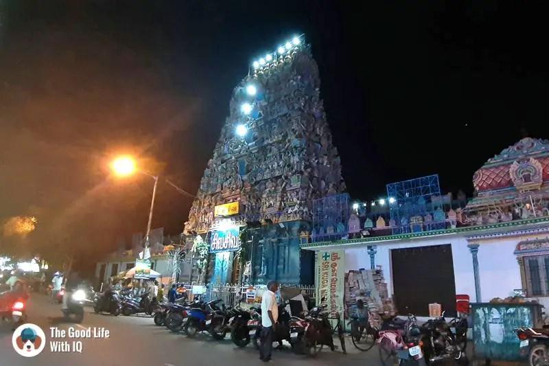 Pondicherry temple