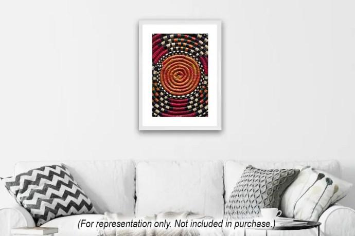 Basket pattern from Uganda