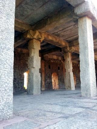 Anegundi's riverside storehouse