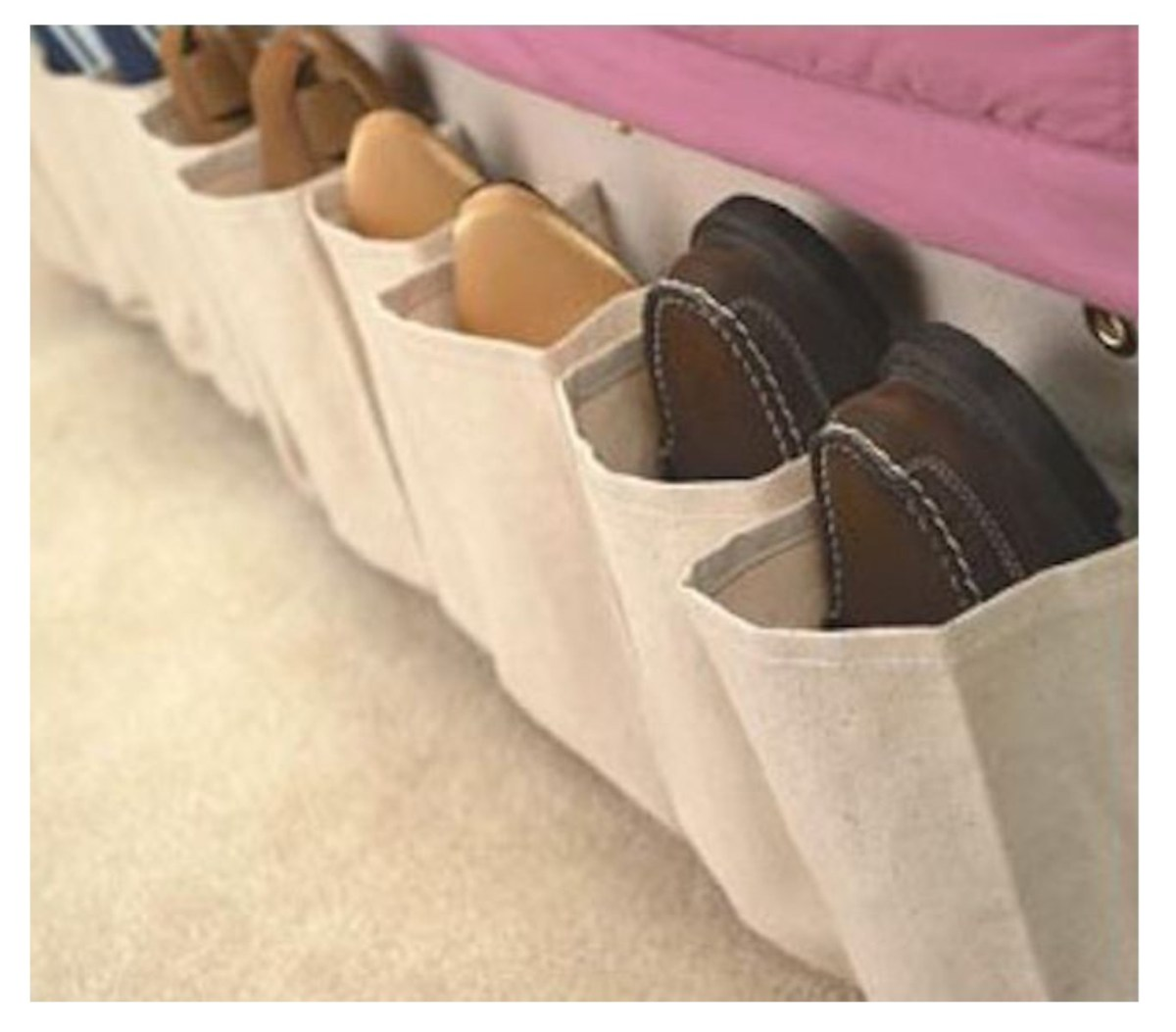 rv shoe storage ideas