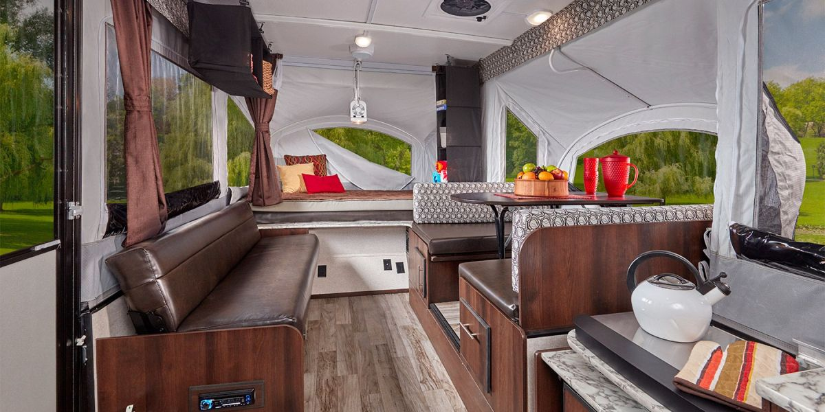 high wall pop up camper