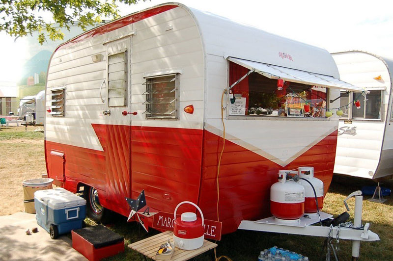 how to paint aluminum camper shell