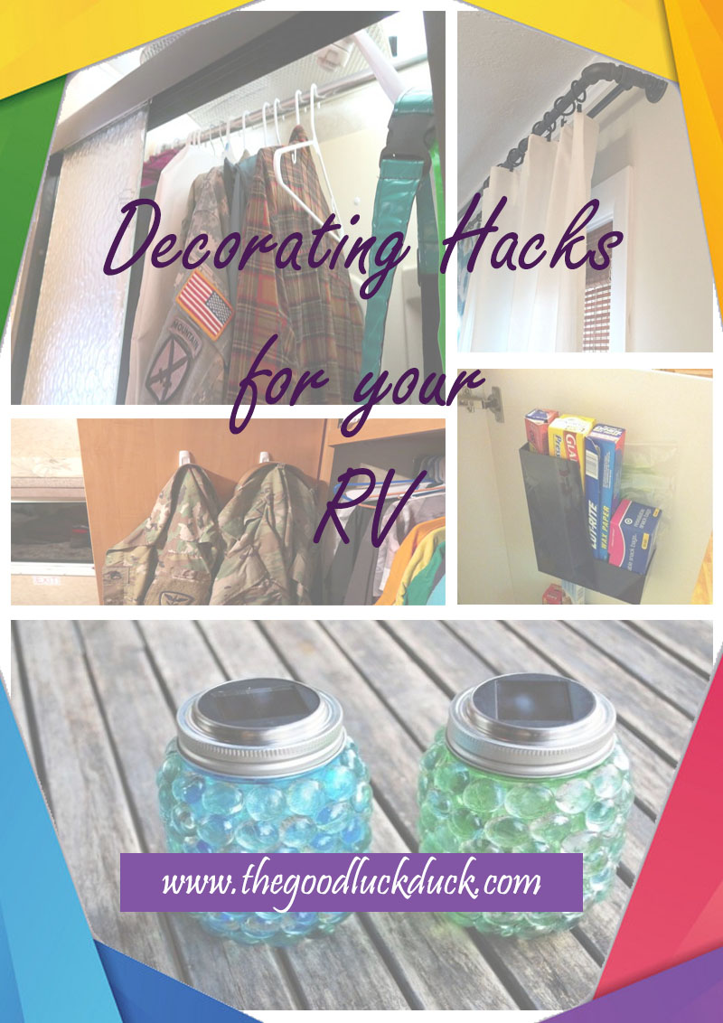 rv camper decorating ideas