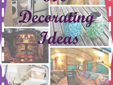 how to decorate an rv