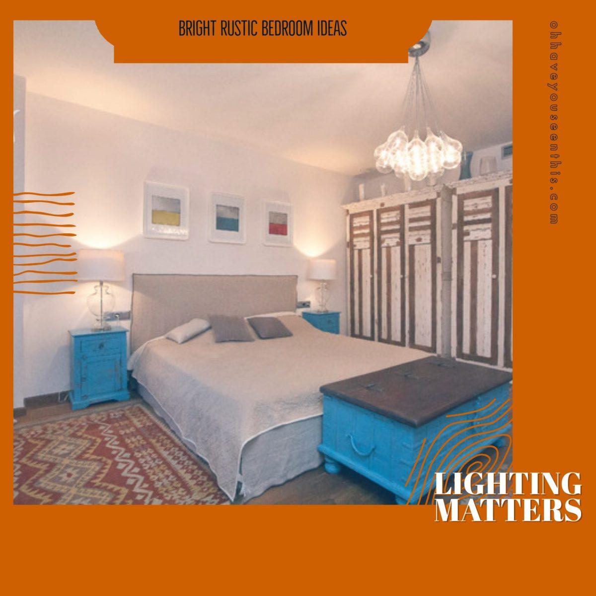 Bright Rustic Bedroom Ideas