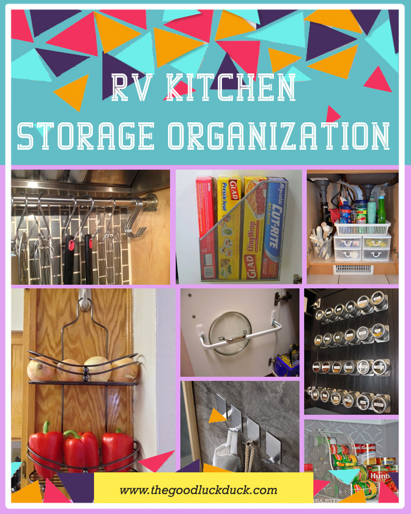 rv living storage organization