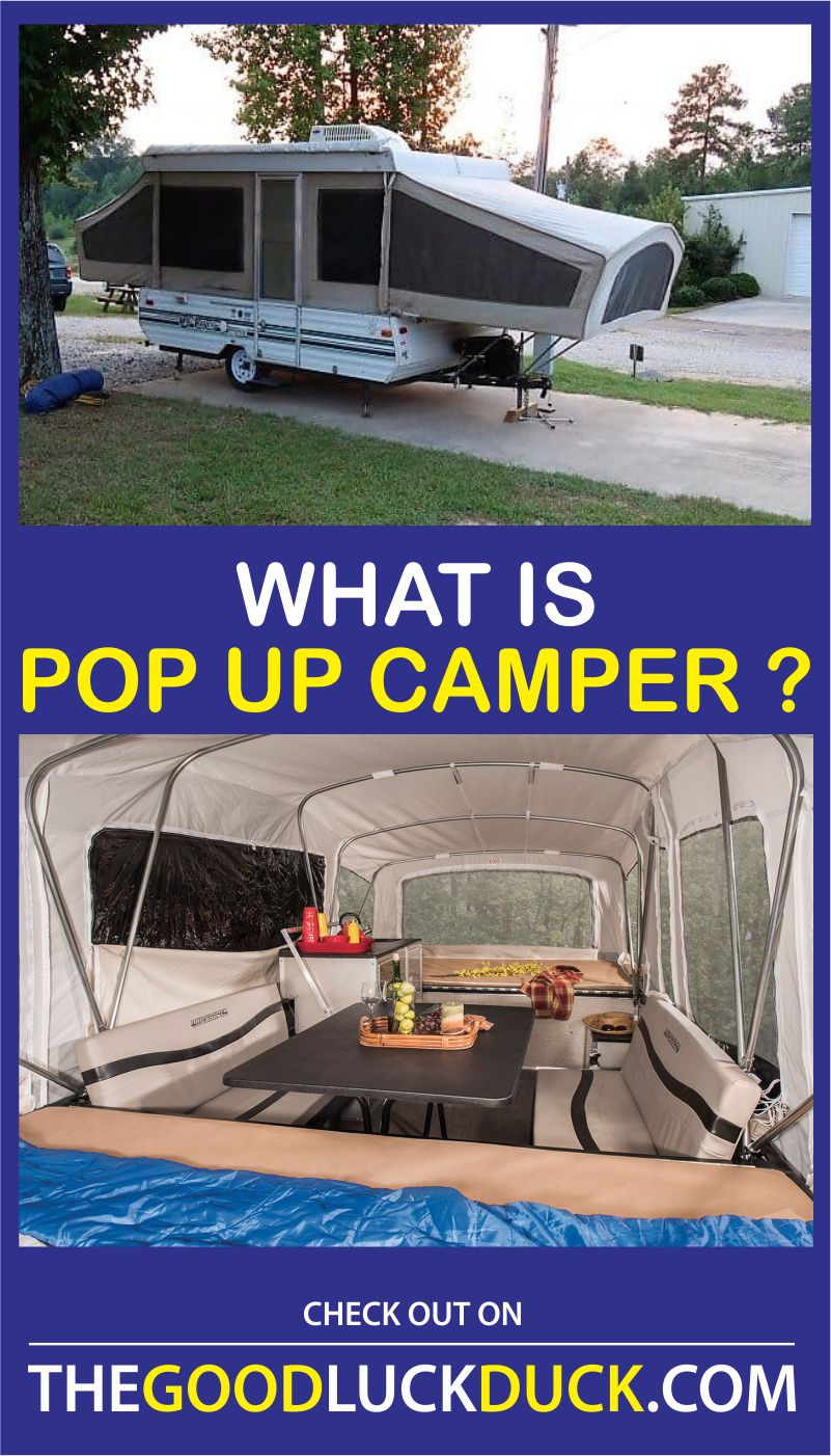 how do pop up campers work