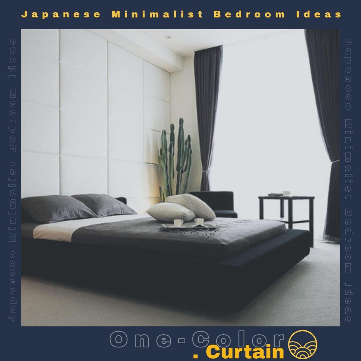 Japanese Minimalist Bedroom Ideas