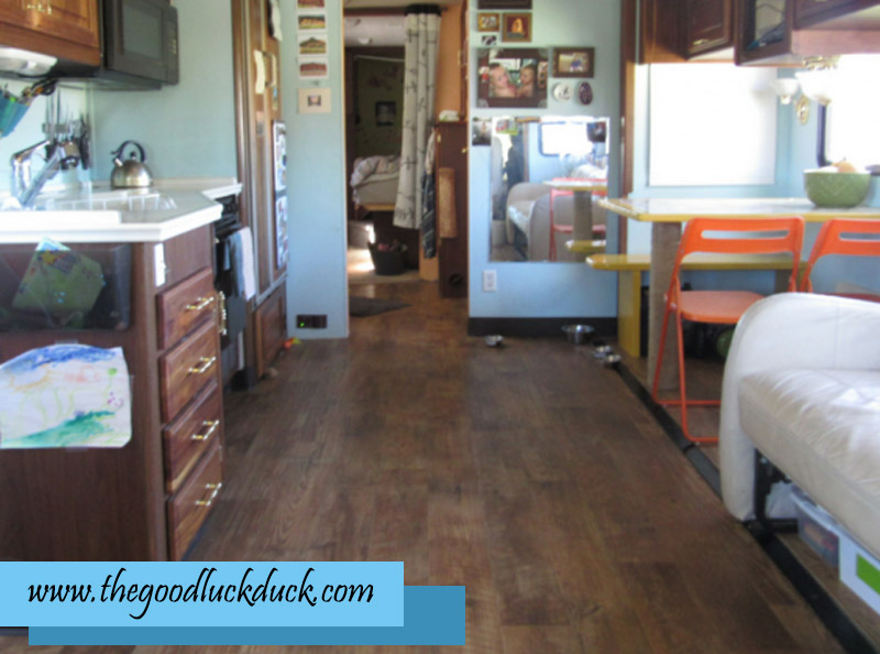 replacing carpet in rv with vinyl