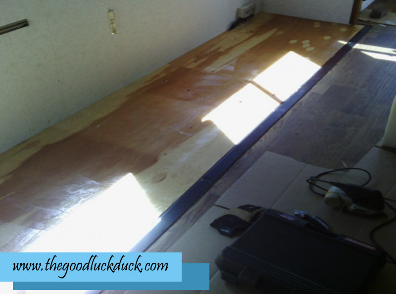 rv flooring installation