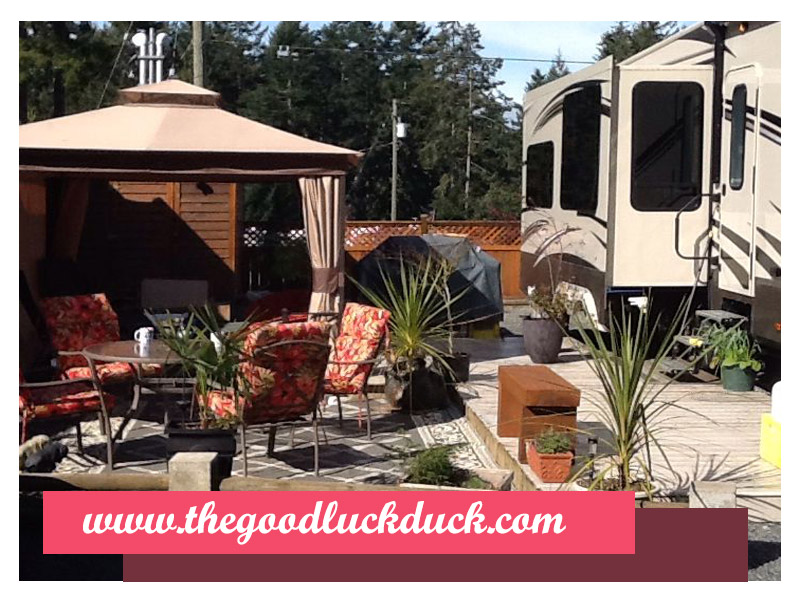 rv deck decorating ideas