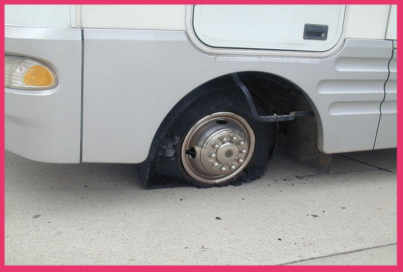 How do you know if your RV tires are bad?