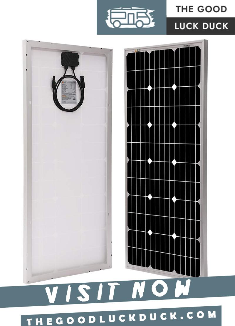 rv flexible solar panels