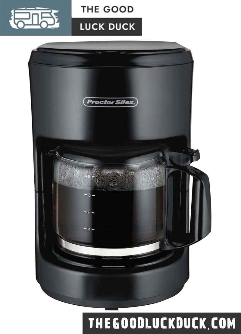 contoure under cabinet rv coffee maker