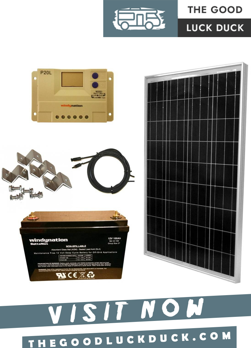 solar panels for rv trailers