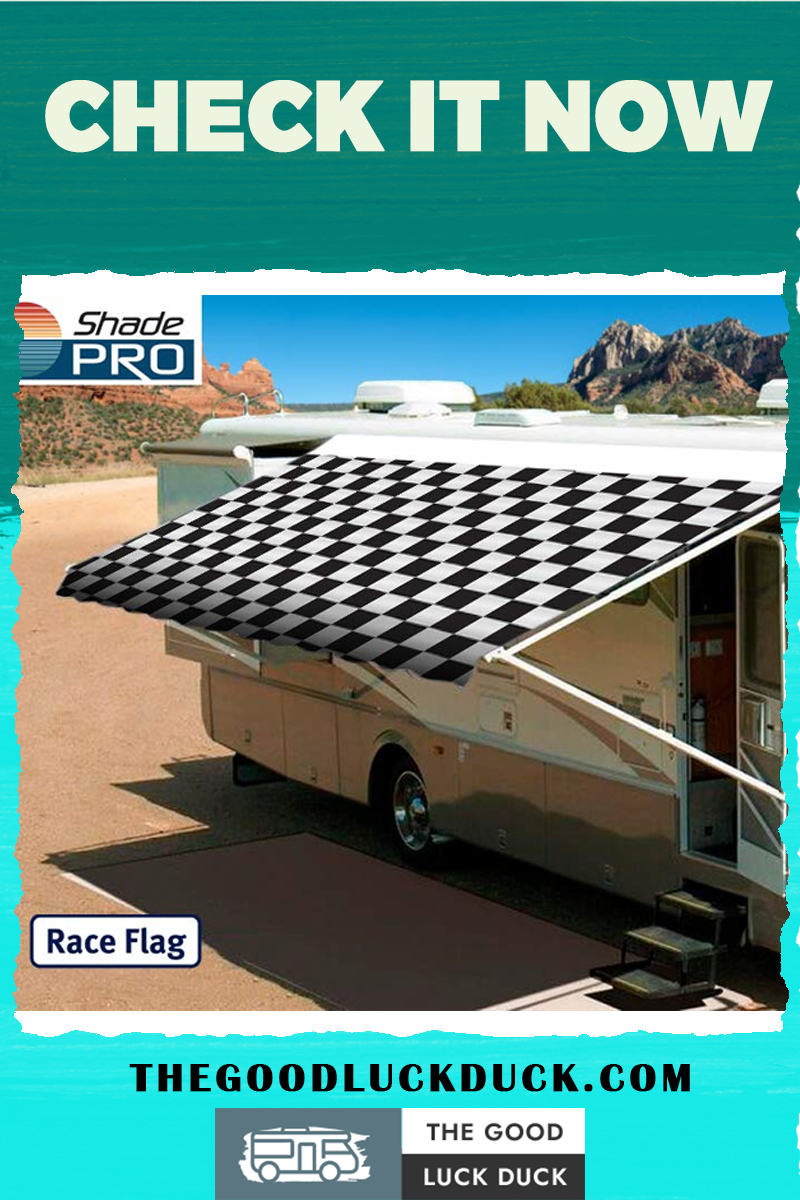 how to open manual rv awning