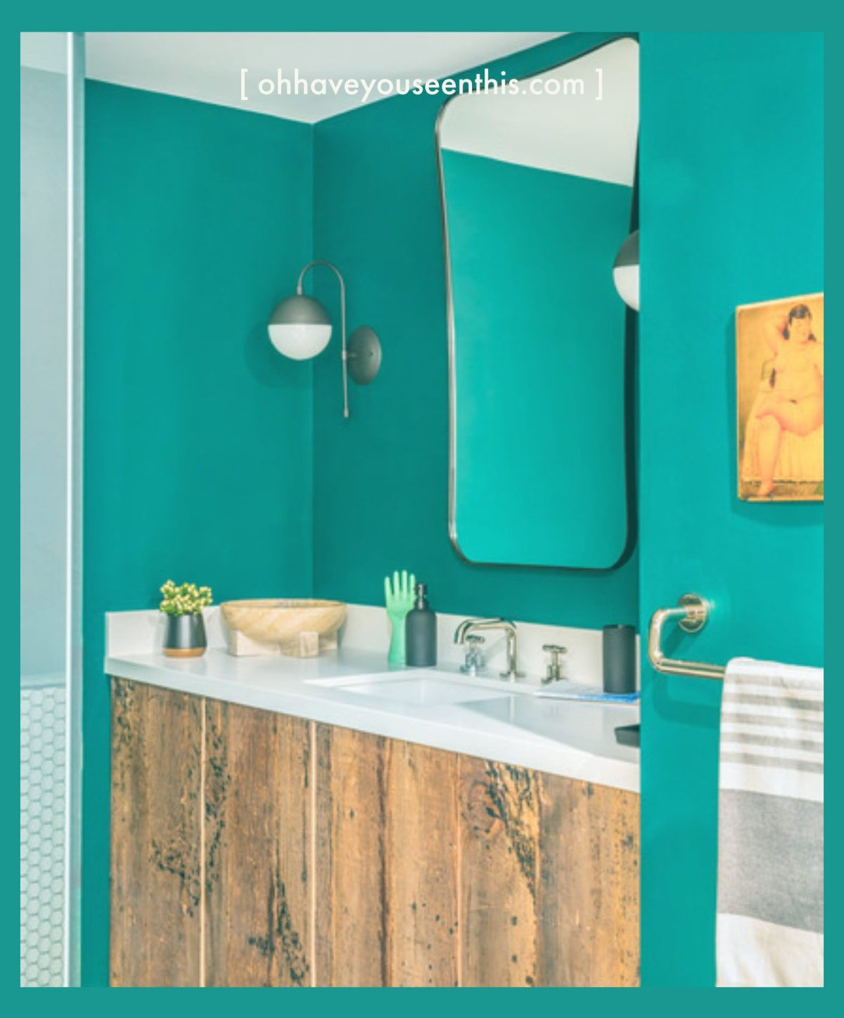 turquoise for room