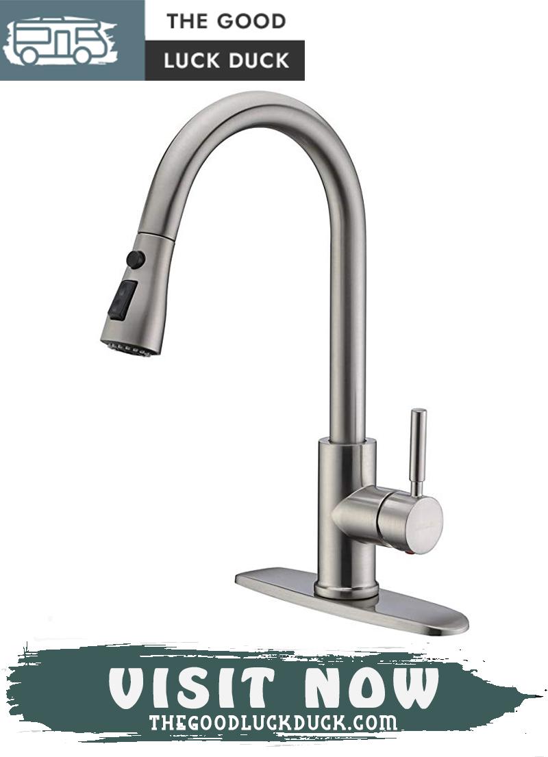 rv pump faucet