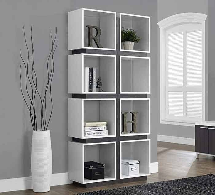 Monarch Specialties Hollow Core Bookcase