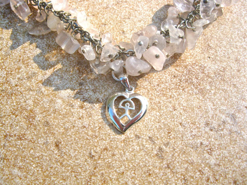 Meaningful gift Indalo heart
