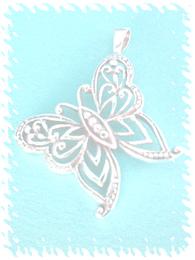 Pendant butterfly symbol