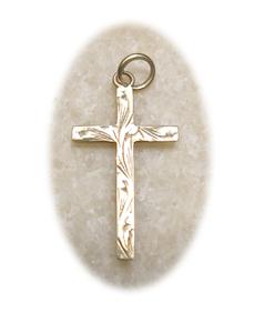 Cross symbol of faith on journey