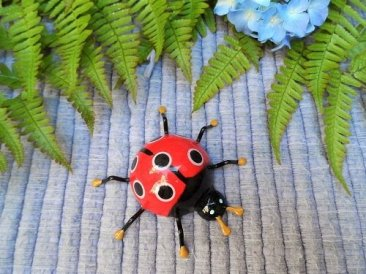 Ladybird good luck charm