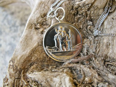 St Christopher symbol jewelry